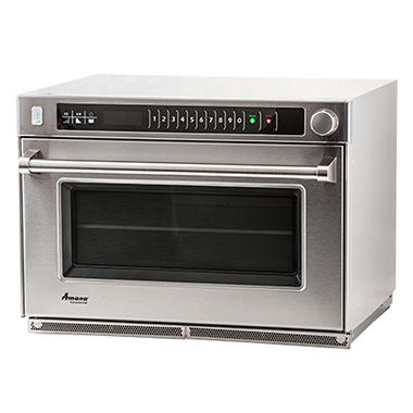 Amana AMS035 Commercial Steamer Microwave Oven with Touch Pad, 3500W