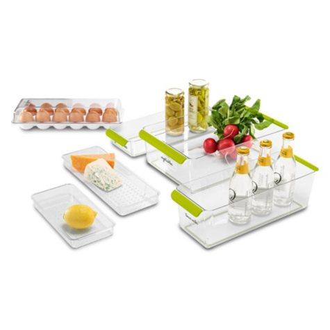 madesmart 6-Piece Premium Fridge Storage Set (Assorted Colors)