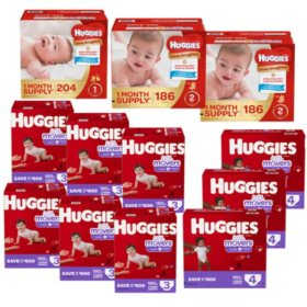 Huggies 12-Month Supply Diaper Bundle