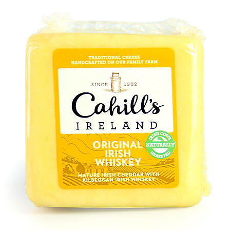 Cahill's Original Irish Whiskey Cheddar (Priced Per Pound)