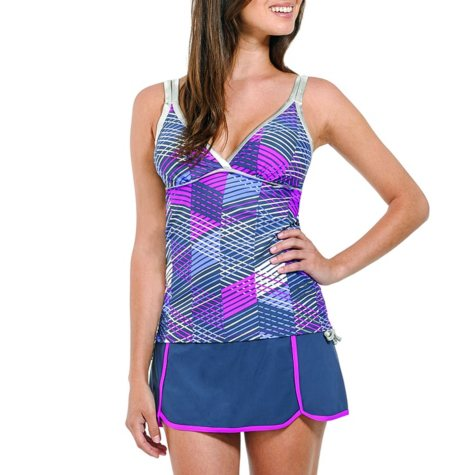 Free Country Women's Tankini and Skirt