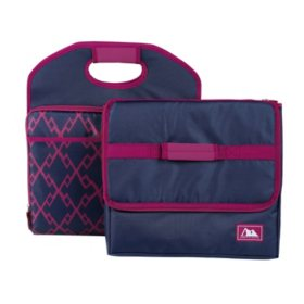 Arctic Zone Trunk Organizer and Insulated Cooler Set (Assorted Colors)