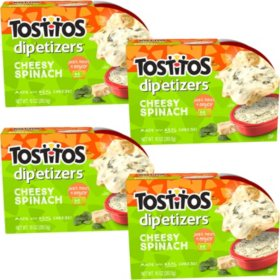 Tostitos Dip-etizers Cheesy Spinach Dip (10 oz., 4 ct.)