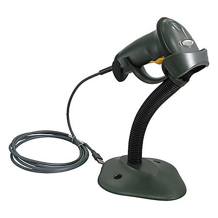 Zebra Technologies LS2208 General Purpose Bar Code Scanner, Twilight Black