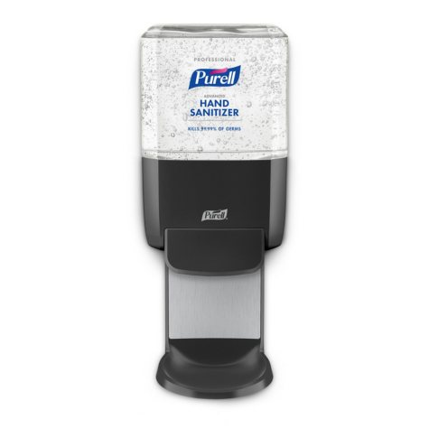 Purell Professional Hand Sanitizer Gel ES4 Starter Kit, Graphite Push-Style Dispenser (1200ml refills, 2 ct.)