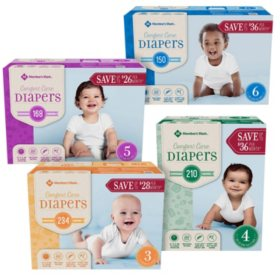 diaper bundles sam s club