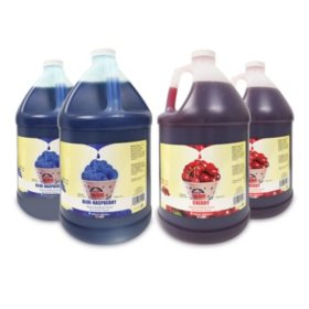 Gold Medal Sno-Kone Syrup Combo Pack, Select Flavors