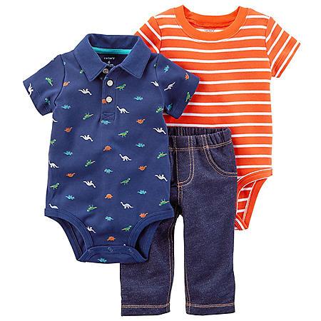 Carter's 3-Piece Boys' Bodysuit Pant Set
