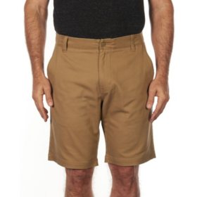 "Iron Clothing ""Pershing"" Flat Front Stretch Twill Short"