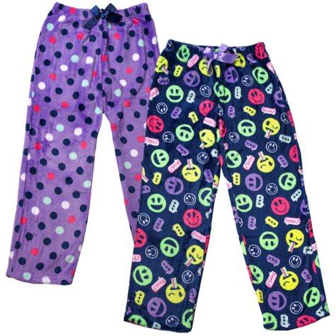 Member's Mark 2 Pack Girl Pajama Pants