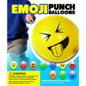 Emoji Punch Balloons (250 ct.)