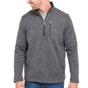 Designer Men's Angler 1/4 Zip Fleece Sweater