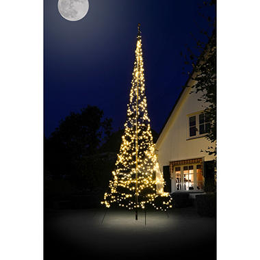 20 fairybell outdoor christmas tree with 900 led lights