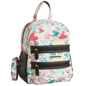 Stone Mountain Printed Leather Mini Backpack