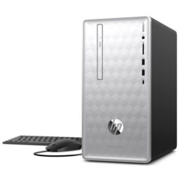 HP Pavilion Desktop Tower:  Intel Core i5-8400 Processor, 24GB Memory: 16GB Intel Optane + 8GB RAM, 2TB Hard Drive, Optical Drive, 5.1 Surround Sound, Keyboard and Mouse, Windows 10, 2-Year Warranty Care Pack