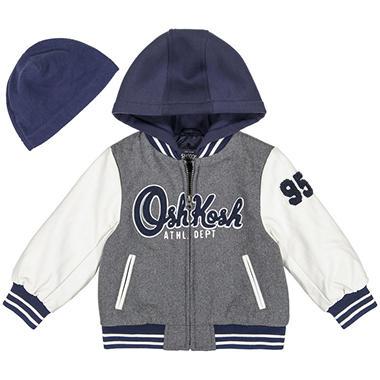feb85001c6f3 Osh Kosh Boy s Varsity Jacket - Sam s Club