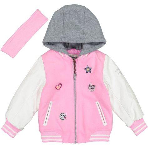 Osh Kosh Girl's Varsity Jacket
