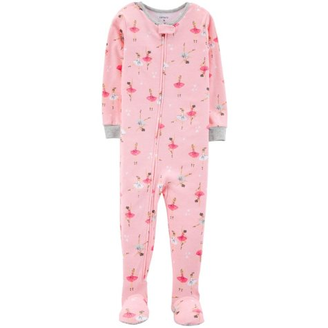 Carter's Girl's 1 Piece Cotton Sleeper