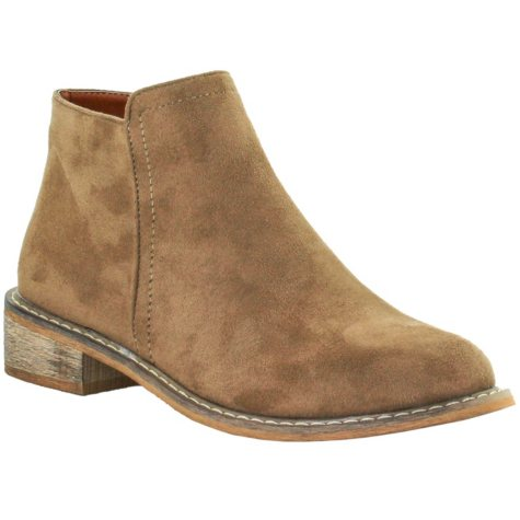 Seven7 Women's Vegan Leather Ankle Boot