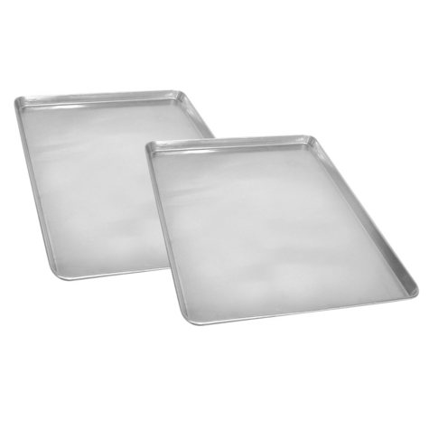 "Half Size Aluminum Sheet Pan, 18"" x 13"" (2 pk.)"