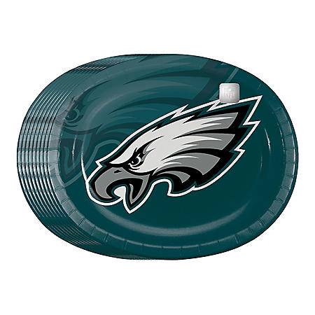 NLF Paper Platter Plates- 50 - 55 ct. (Choose Your Team)