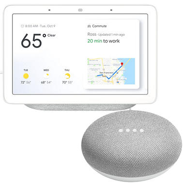 Google Home Speaker and Google Home Mini (Choose Color Style)