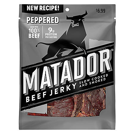 Matador Pepper Beef Jerky Strips (3 oz., 3 pk.)