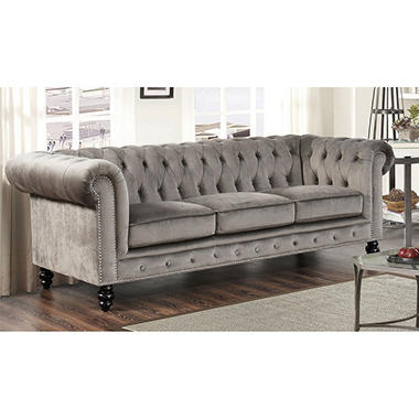 Davenport Velvet Sofa Orted Colors