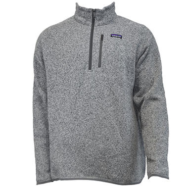 Mens Better Sweater 14 Zip By Patagonia Sams Club