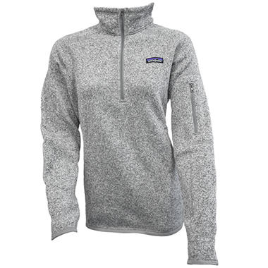 Womens Better Sweater 14 Zip By Patagonia Sams Club