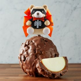 Milk Chocolate Delight Scare Bear Jumbo Caramel Apple