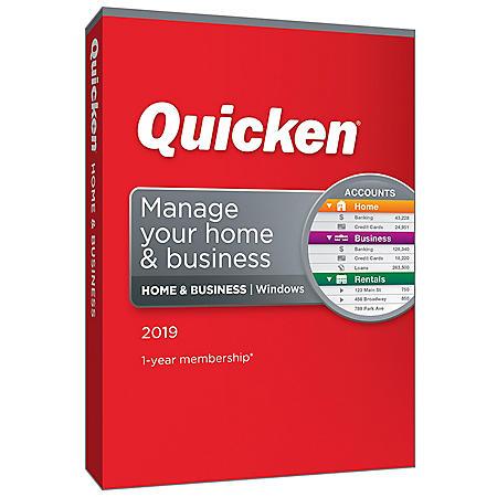 Quicken 2019 Home & Business