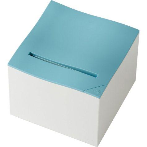 Nemonic Sticky Note Printer Kit with 3-Pack Multicolor Nemonic Paper Cartridge, Berry Blue