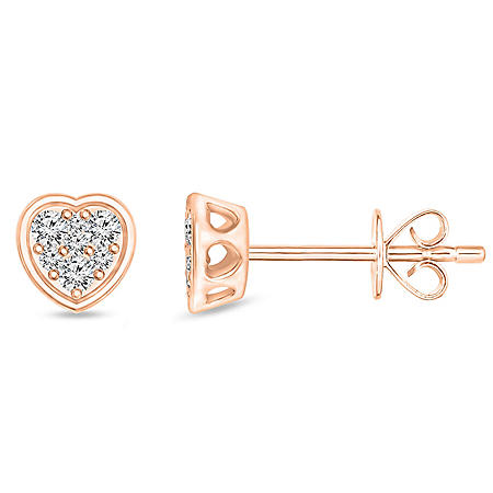 0.23 CT. T.W. Diamond Earrings in 14K Gold