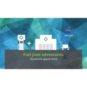 Sam's Club Fuel Gift Cards - Various Values
