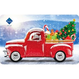 Sam's Club Red Truck Gift Cards - Various Values