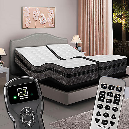 Split King Digital Millennium Box Eurotop Air Bed Amp Dual