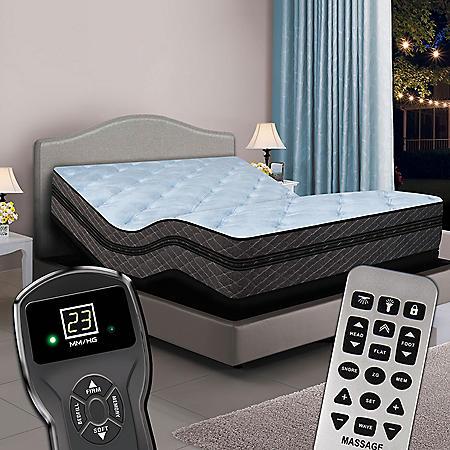 Twin XL Digital Memories™ Ultra Hi-Profile Pillowtop Air Bed & Premium Adjustable Powerbase™