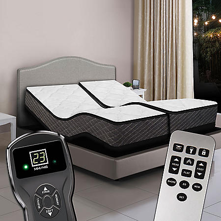 Split King Digital Princeton Premium Plush Top Air Bed