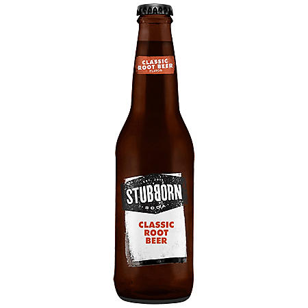 Stubborn Soda Classic Root Beer, Single Bottle (12 fl. oz.)