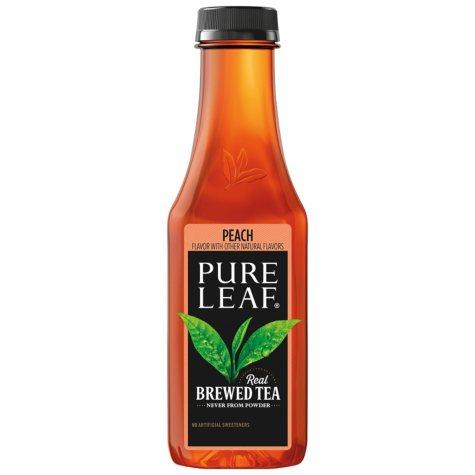Pure Leaf Brewed Iced Black Tea, Peach, Single Bottle (18.5 fl. oz.)