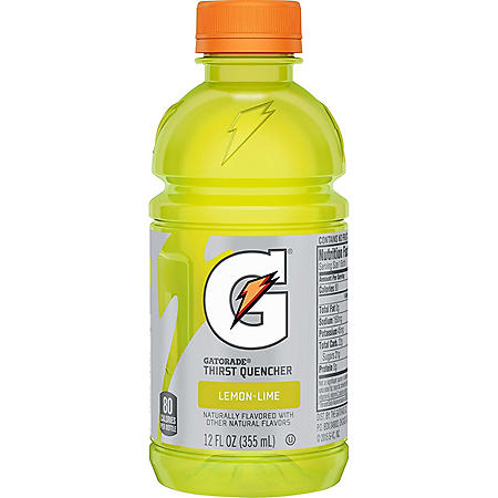 Gatorade Thirst Quencher, Lemon Lime (12 fl. oz)