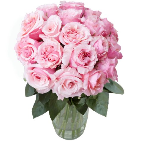 Dreaming in Pink Garden Rose Bouquet