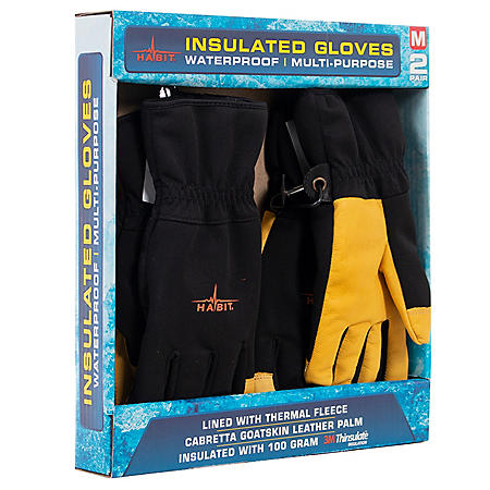 Habit Waterproof Multi-Purpose Insulated Gloves