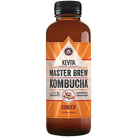 OFFLINE KeVita Master Brew Kombucha, Ginger (15.2 fl. oz.)