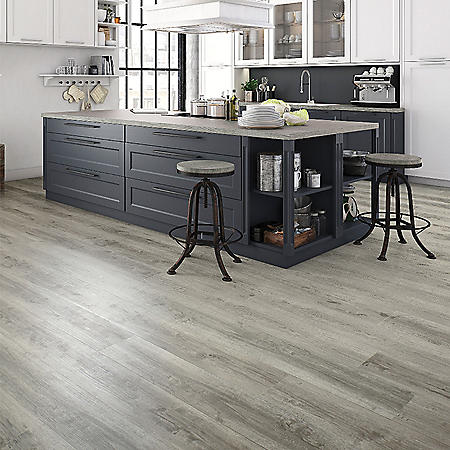 Select Surfaces Harbor Gray Rigid Core Vinyl Plank Flooring (3 Boxes)