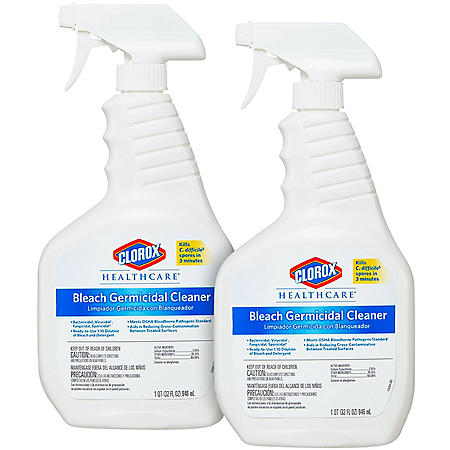 Clorox Healthcare Bleach Germicidal Cleaner (Choose Your Count)