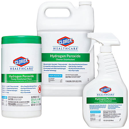 Clorox Healthcare Hydrogen Peroxide Cleaning Bundle