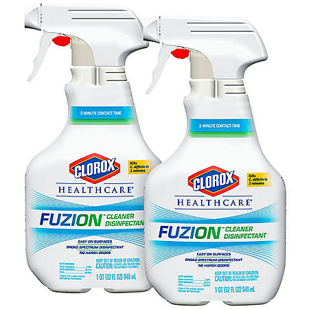 Clorox Healthcare Fuzion Cleaner Disinfectant (Choose Your Count)