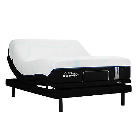 "TEMPUR-LuxeAdapt Firm Pressure-relieving 13"" California King Mattress and TEMPUR-Ergo Power Base Set"